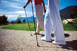 Nordic Walking in Dorf Tirol